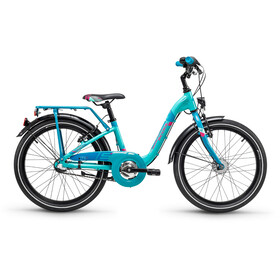 s'cool chiX 20 3-S - Vélo enfant - alloy turquoise